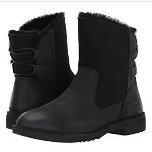 NIB! Ugg Black Women's Naiyah Boot Size 6.5